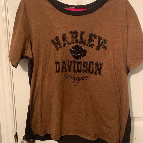 Harley Davidson metallic t-shirt